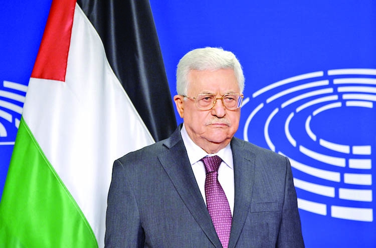 Abbas seeks EU support for Palestinians amid US row