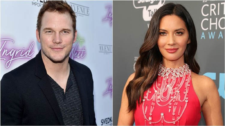 Olivia Munn denies dating Chris Pratt