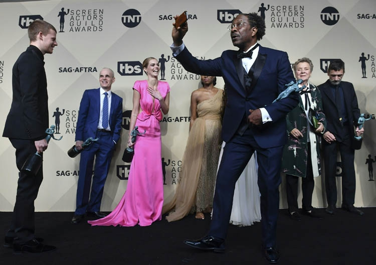 Three Billboards triumphs at Screen Actors Guild Awards 2018
