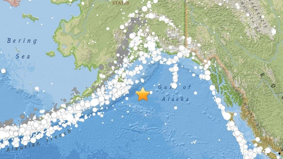 Magnitude 8.2 earthquake hits Gulf of Alaska