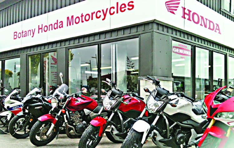 Honda to start producing motorbikes in BD this year