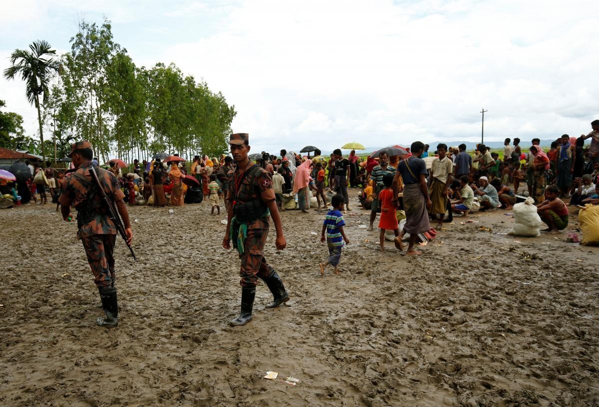 2 Coast Guard men hurt in Rohingya attack