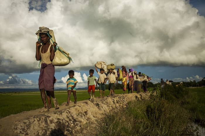 BD, Myanmar discussing repatriation of Rohingyas on no-man's land