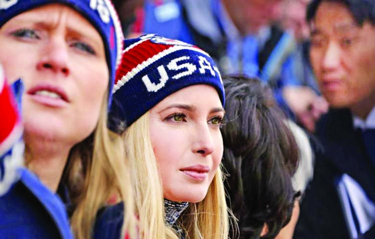 US warns N Korea as Ivanka hits Olympics