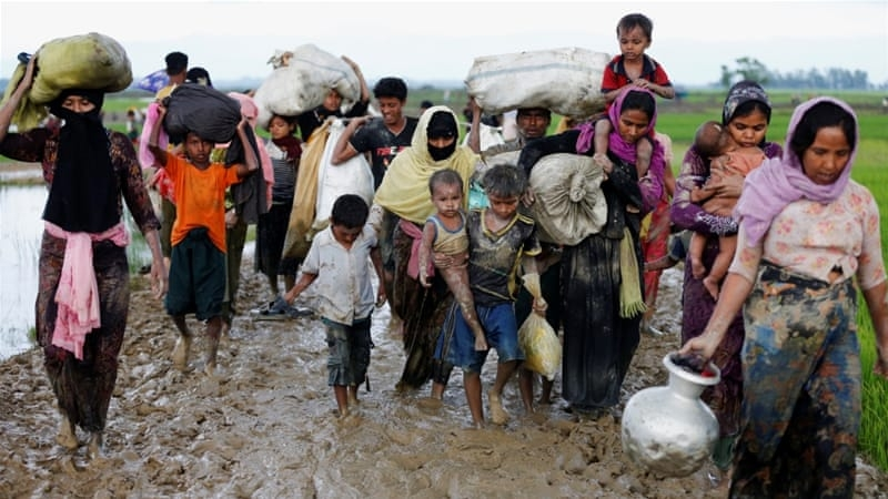 Myanmar envoy-FM discusses Rohingya issue