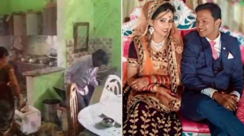Groom killed after wedding gift explodes