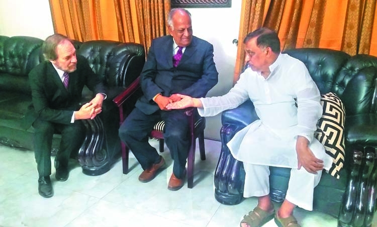 Benkin meets ministers, AG