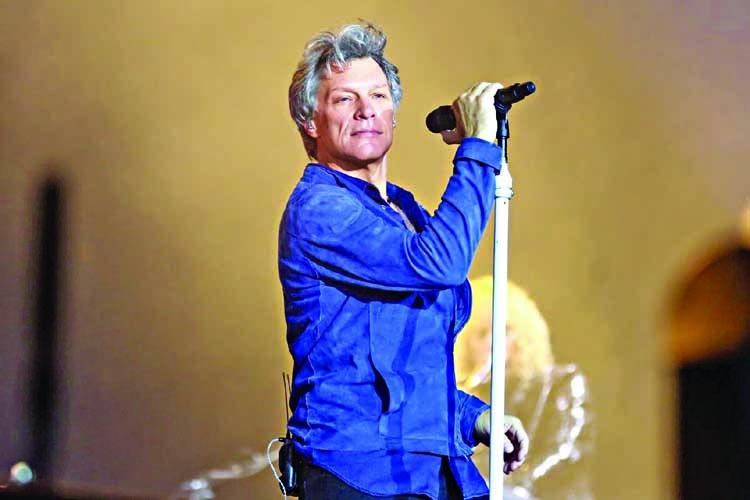 Bon Jovi celebrates 35-year career with Icon Award