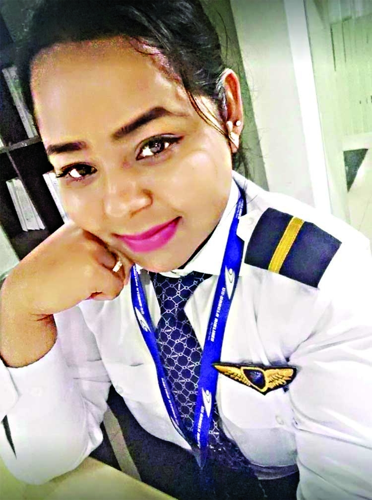 Valiant co-pilot termed 'Daughter of Bangladesh'