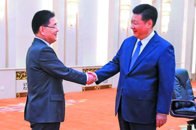 China, Russia welcome Korean peace efforts