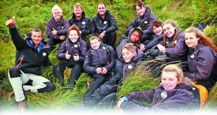 Survival series with Bear Grylls