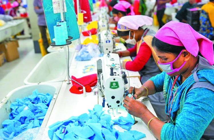 Export earnings from RMG increases by 8.3 percent