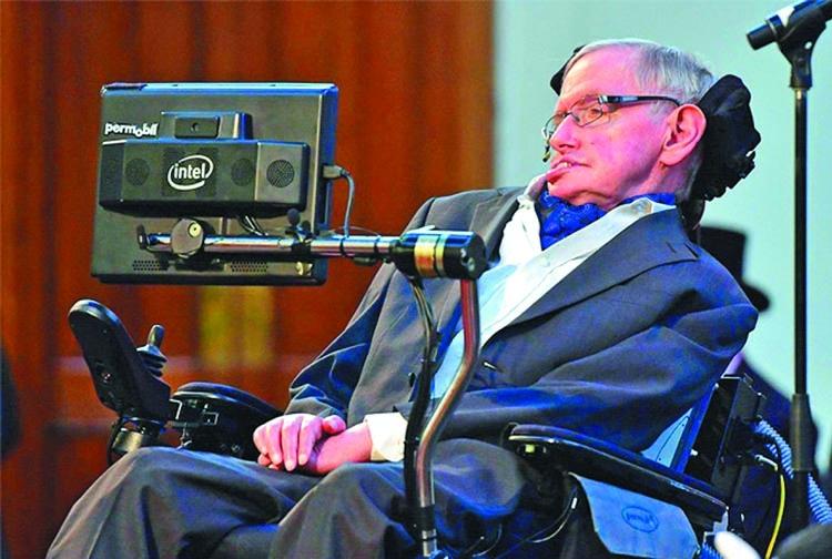 Stephen Hawking -- A rare bred scientist of ingenuity