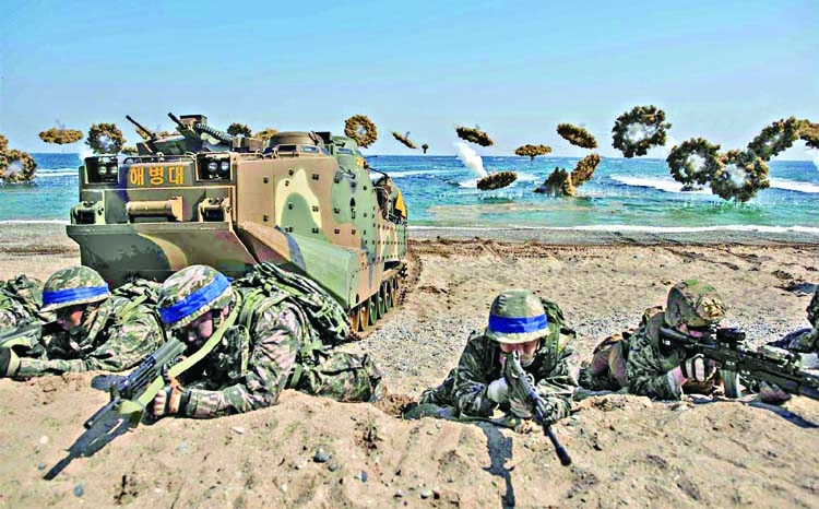 South Korea, US to scale down military drills