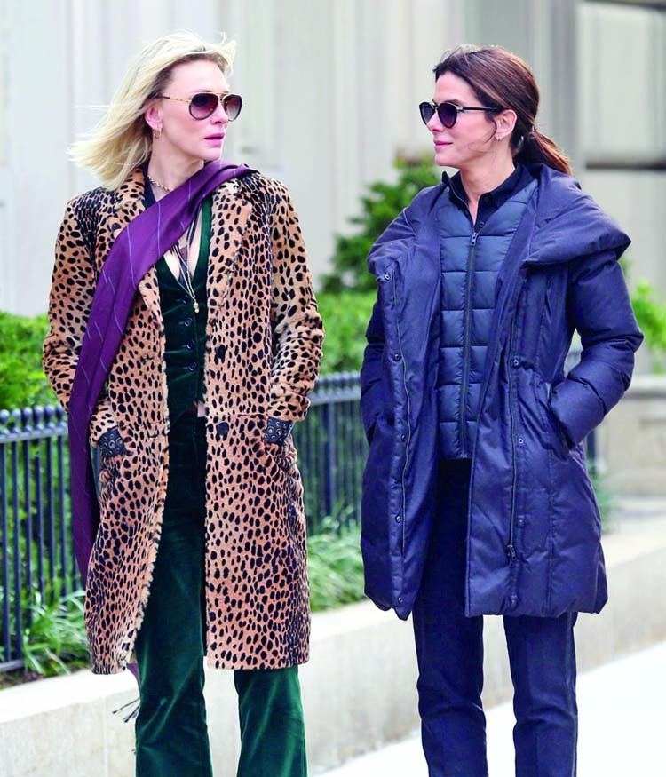 Sandra Bullock and Cate Blanchett get 'Penis Facial'