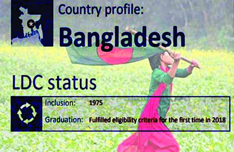 Graduation process to developing  country begins