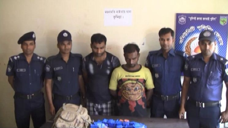 2 held with 24,000 Yaba pills in Comilla