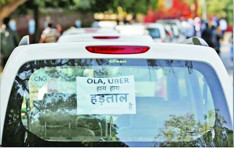 Uber, Ola drivers strike in India for higher pay
