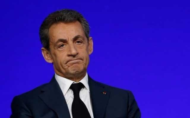 French police detain ex-President Sarkozy