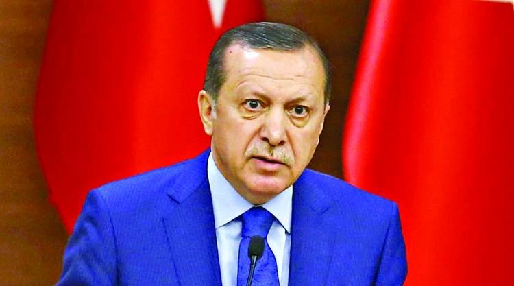 Erdogan vows to extend offensive to Syria, Iraq