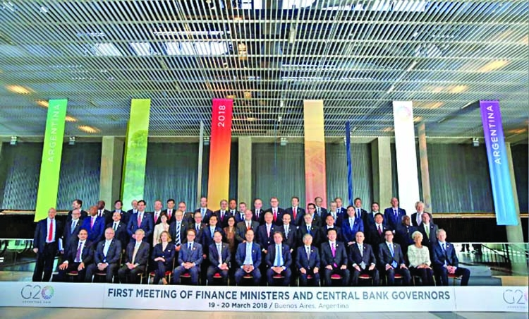 G20 pushes for free trade as US defends interest