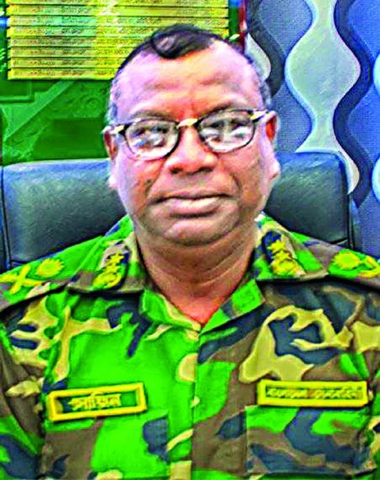 Maj Gen Shafeenul Islam DG of BGB