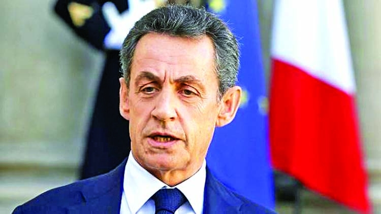 Ex-French president Sarkozy detained
