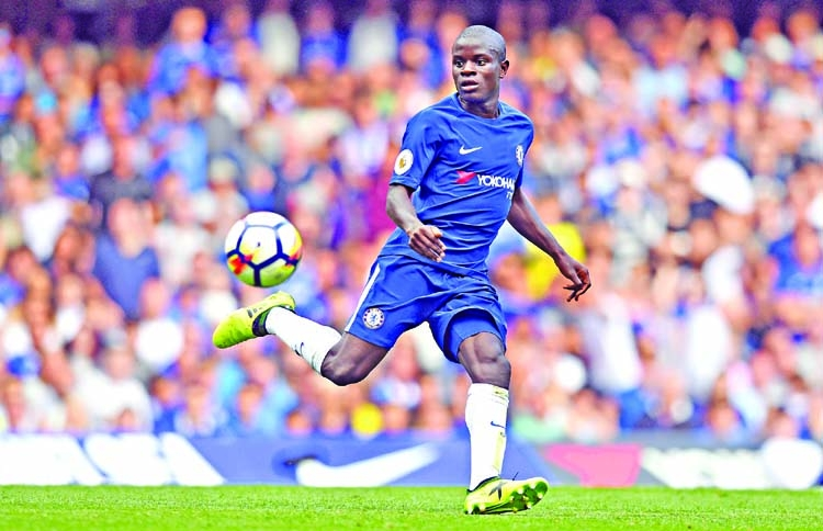 Kante feels 'at home' with Chelsea