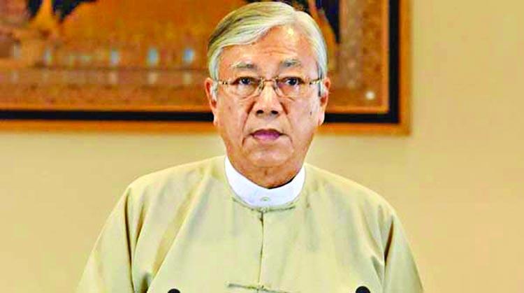 Myanmar president quits