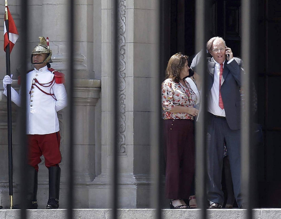 Peru's President announces resign amid political turmoil