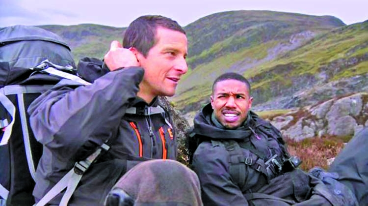 Hollywood actor Michael B. Jordan's adventure