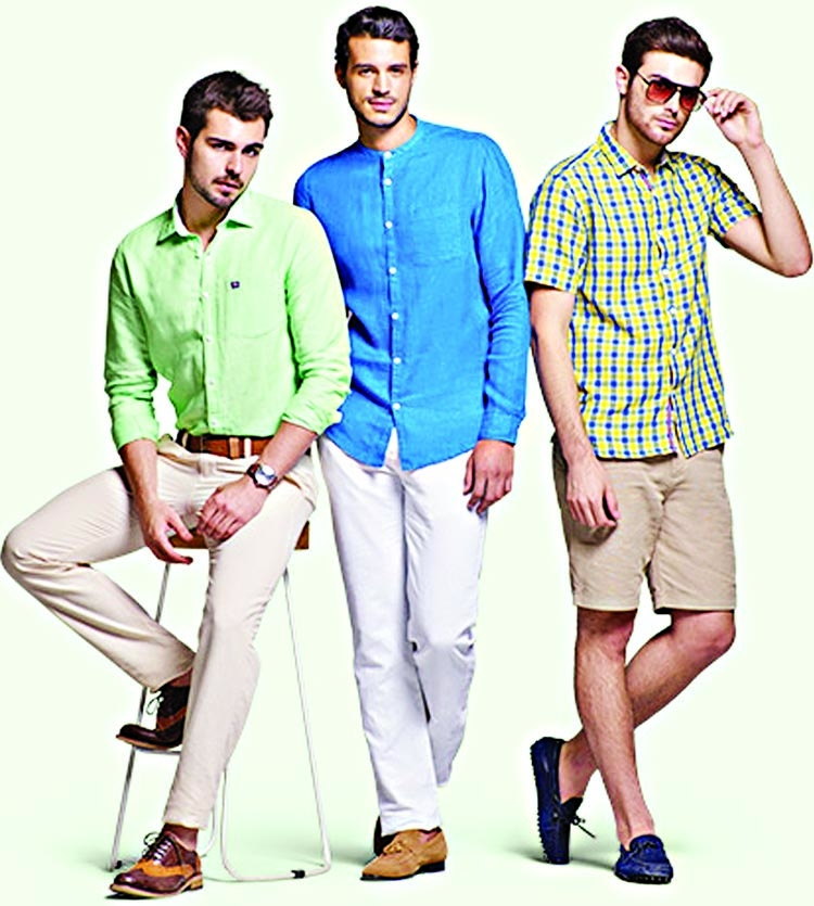 High summer outfits for men