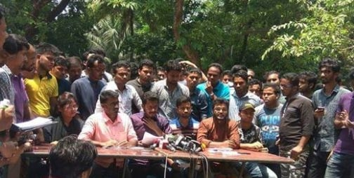3 quota protest leaders questioned over cases