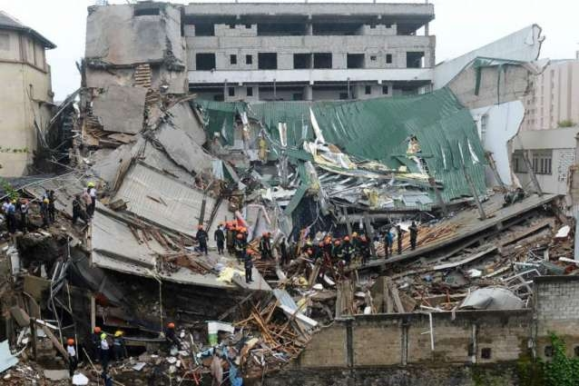 Seven killed in Indonesia building collapse