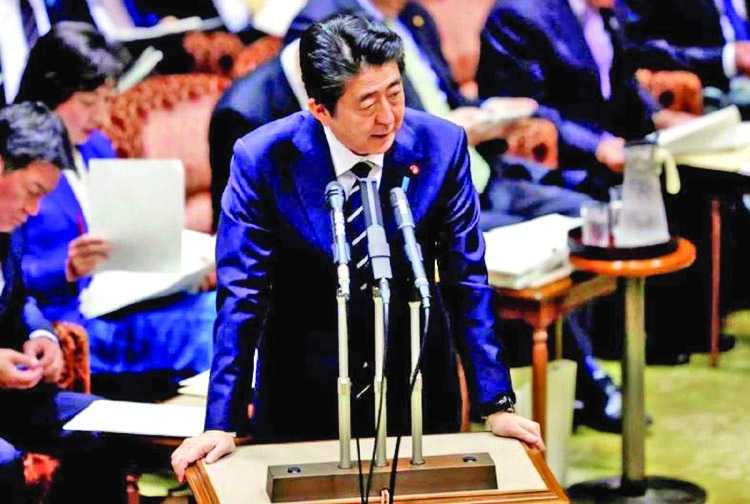 Abe back on the ropes as second scandal grows