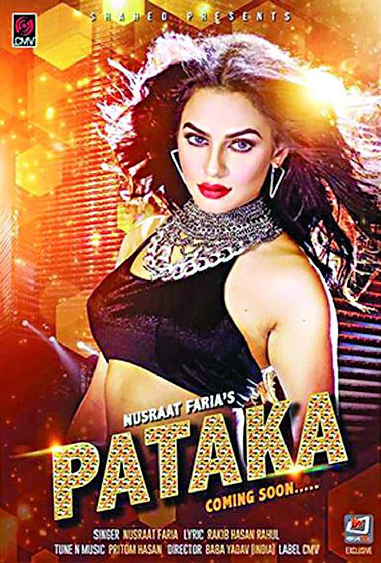 Nusraat Faria's debut single Pataka releases on April 26