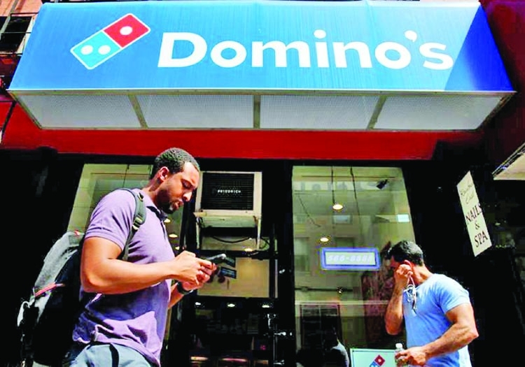 Domino's unveils pizza delivery 'hotspots'