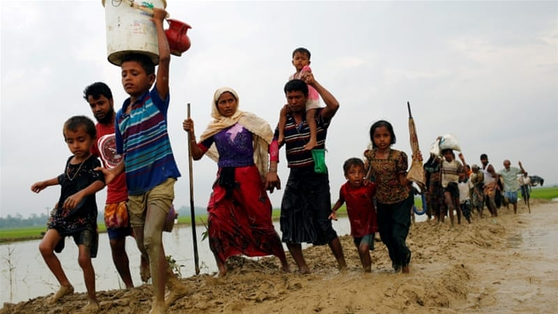 Rohingyas, locals unite to prepare for monsoon in vulnerable camps