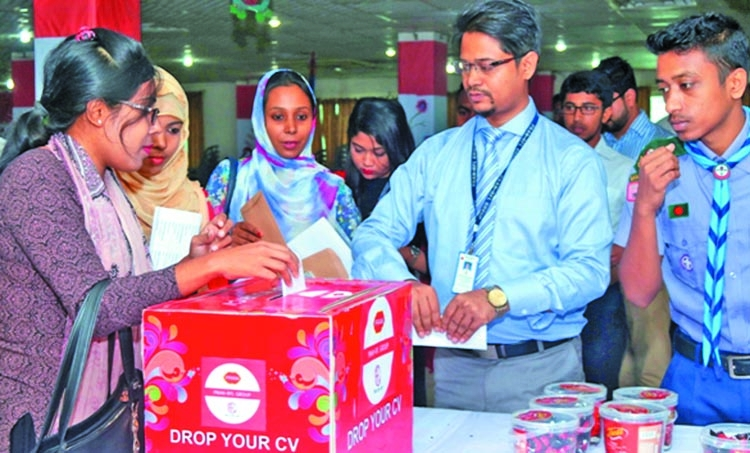 Pran job fair held at BUBT