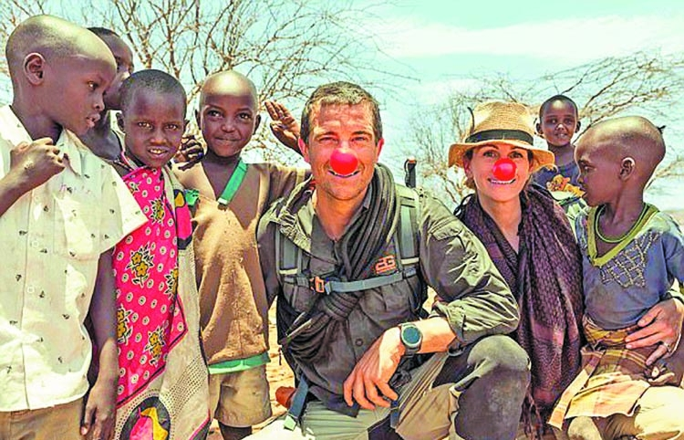 Julia Roberts' adventure to reach Kenya
