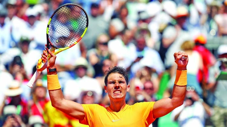 Nadal beats Thiem in Monte Carlo