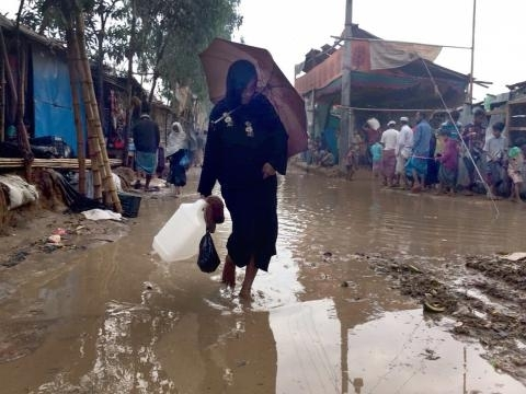 Early rains put Rohingyas at risk; trigger funding concerns