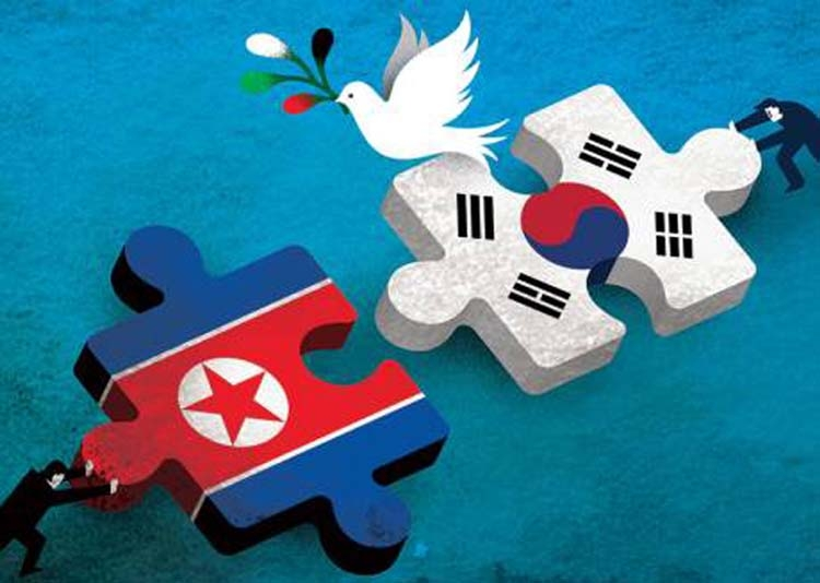 Koreas lay foundations  for peace