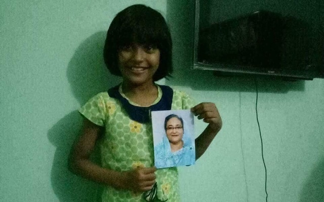 Schoolgirl 'elated' after PM's letter