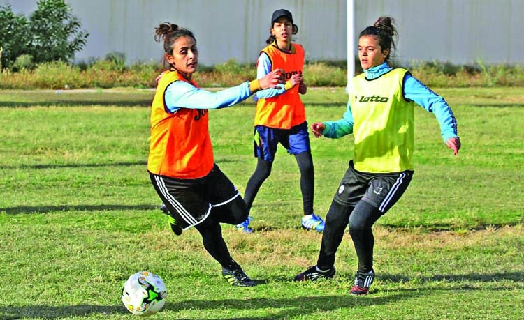 Libya's women footballers struggle on and off pitch