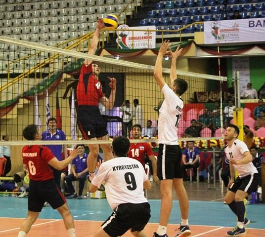 Asian Volleyball: Bangladesh to play Kyrgyzstan in semis on Wednesday