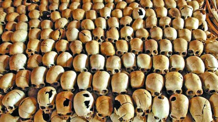 Rwanda mass graves found