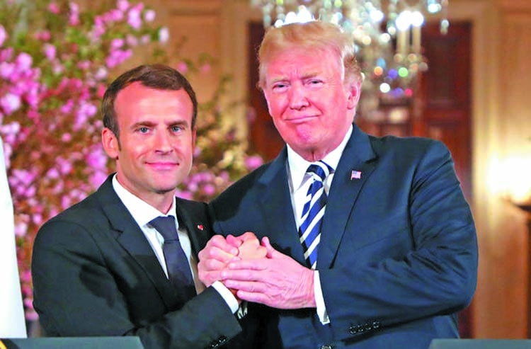 Trump to drop Iran deal, says Macron