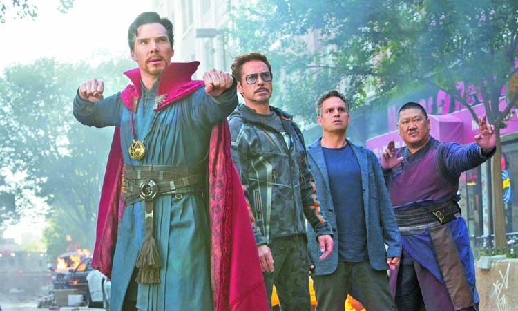 Avengers: Infinity War show begins today