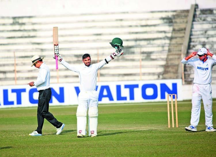Liton Das hits 274 in BCL